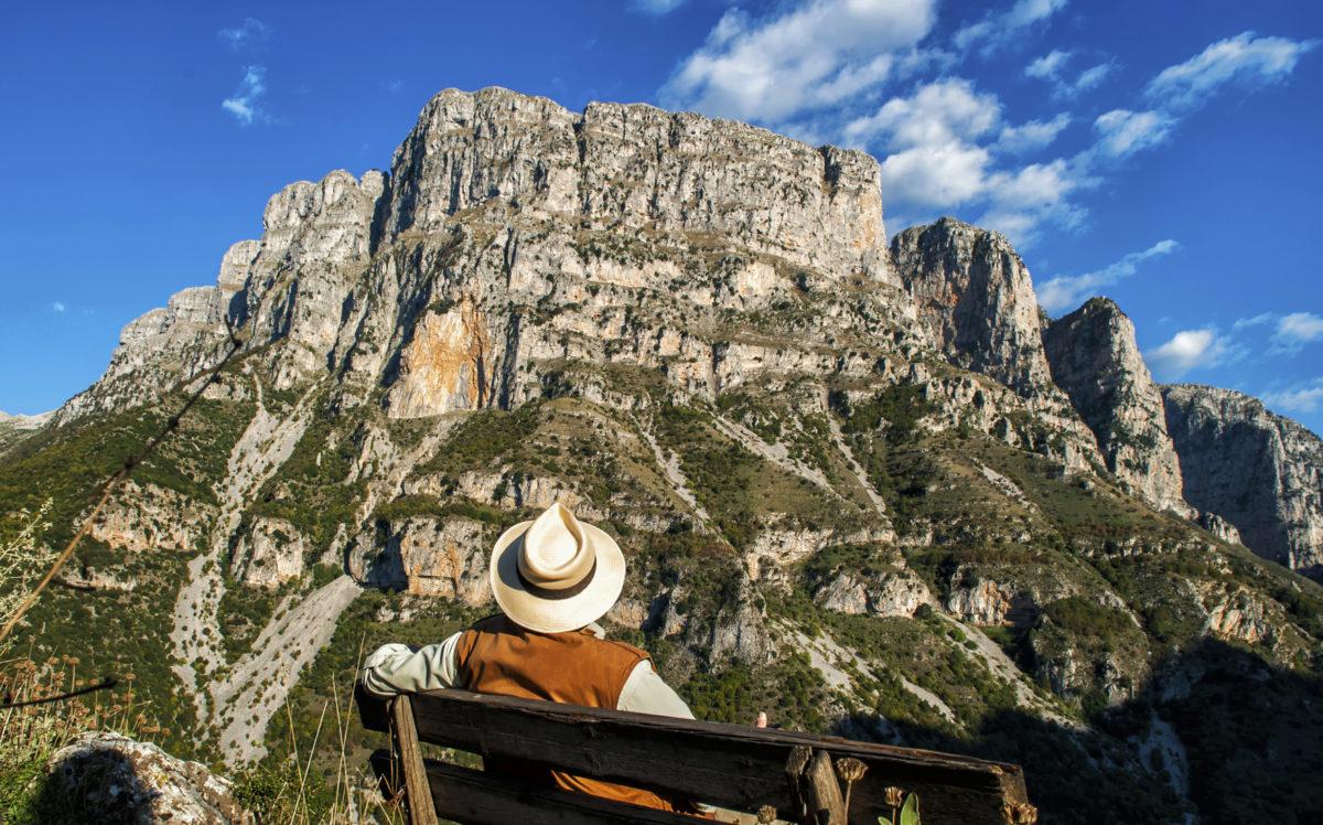 Vikos Canyon, Northeastern Epirus, Greece...