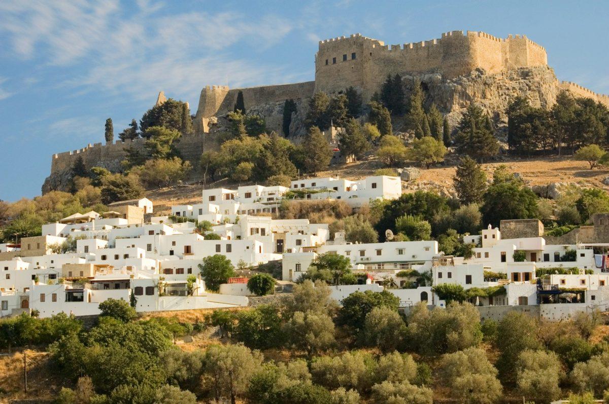 Lindos Castle - Rhodes, Greece