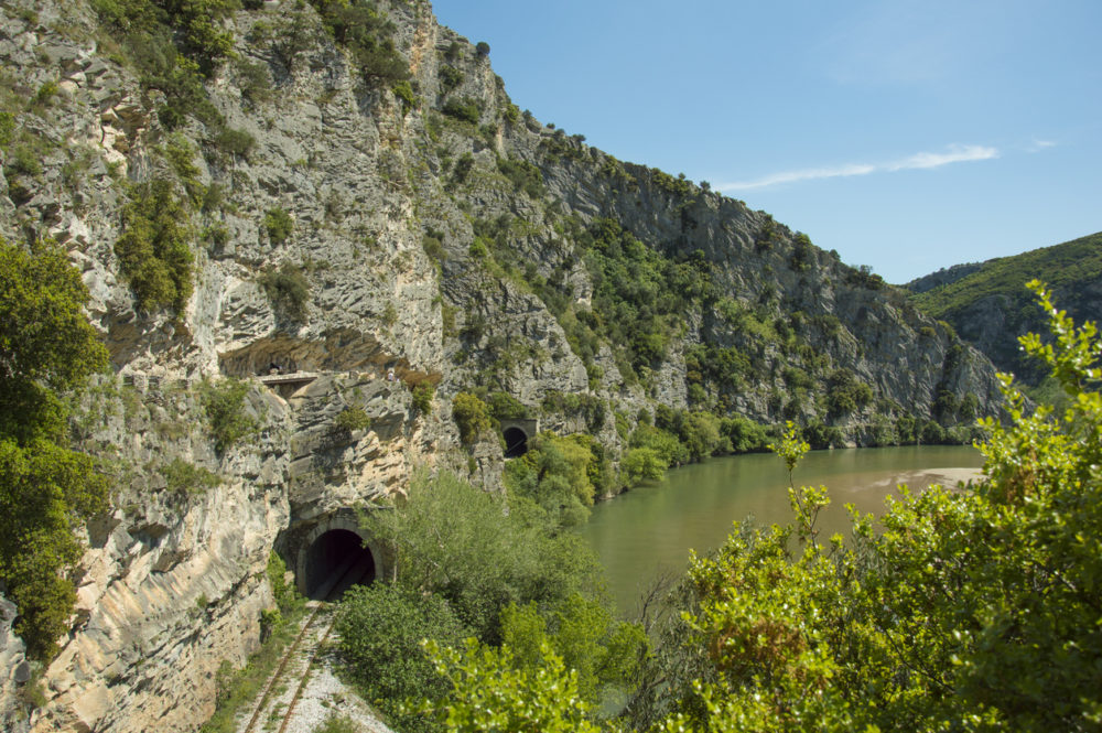 Spring at Nestos river