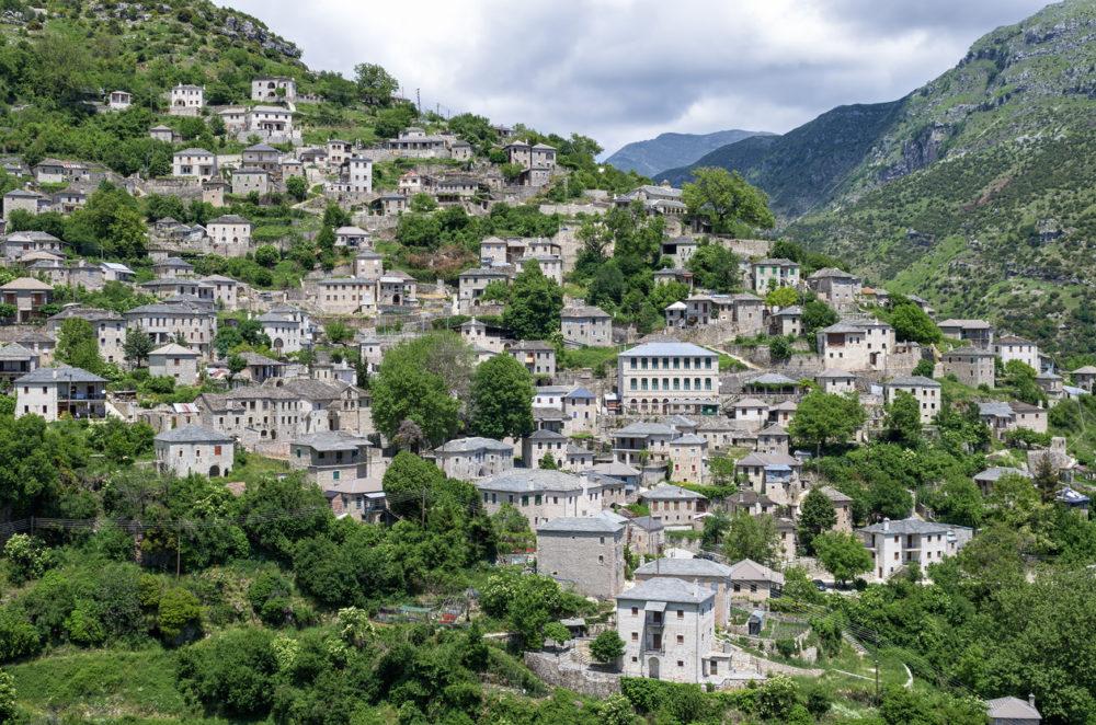 Syrrako village, Epirus, Greece