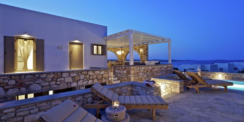 Beachfront villas on Crete