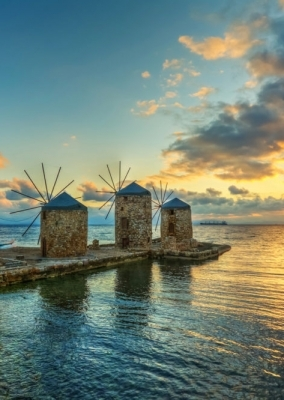 """Greece, From the birthplace of Homer to the island of Sappho. Chios-Lesvos islands."" tour."