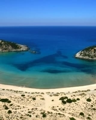 The best beaches around Greece .